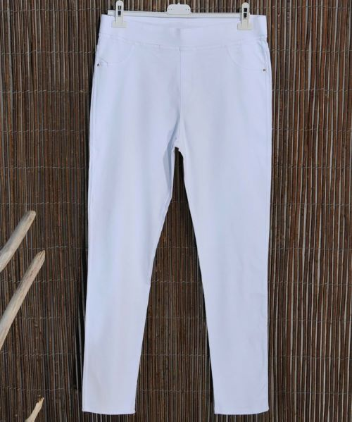 SACHA - JEGGINGS BLANC T46