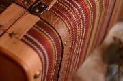 Small coloured suitcase
