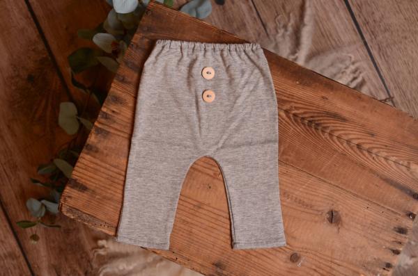 Grey stitch trousers