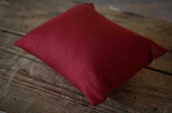 Minipillow with red wine cover