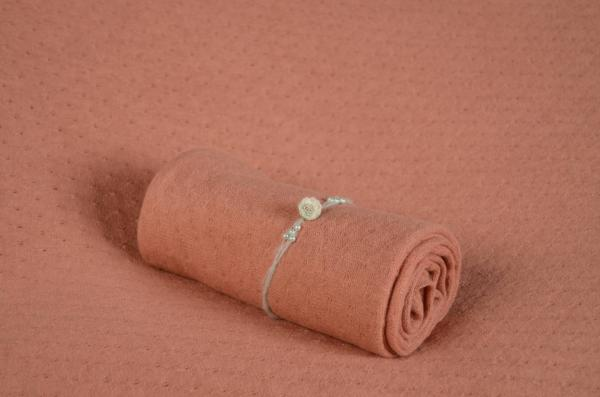 Dark salmon Amsterdam fabric