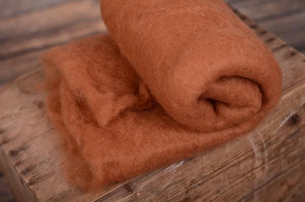 Coperta lana cammello