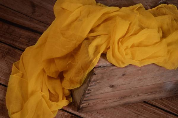 Wrap muselina amarillo yema