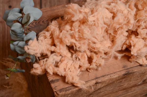 Light camel loose wool