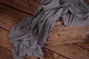 Wrap mousseline gris