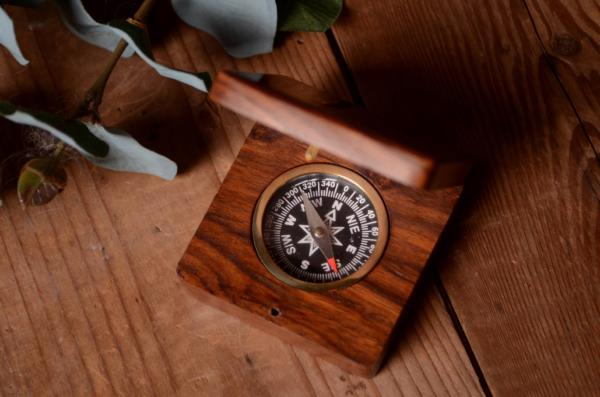 Vintage decorative compass