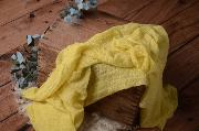 Wrap de algodón amarillo