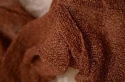 Wrap di rayon marrone