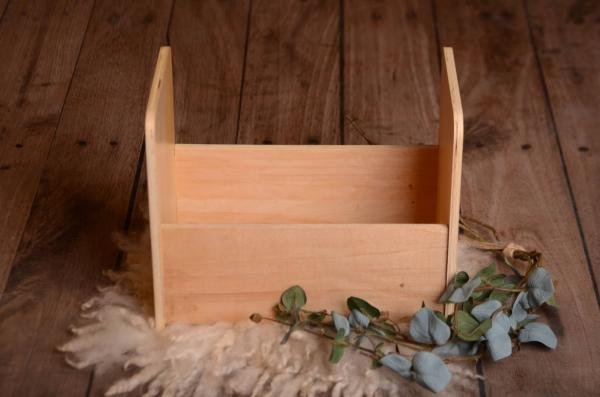 Natural smooth rustic cot 40 cm
