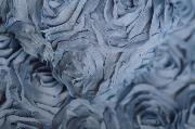 Sky blue flower fabric