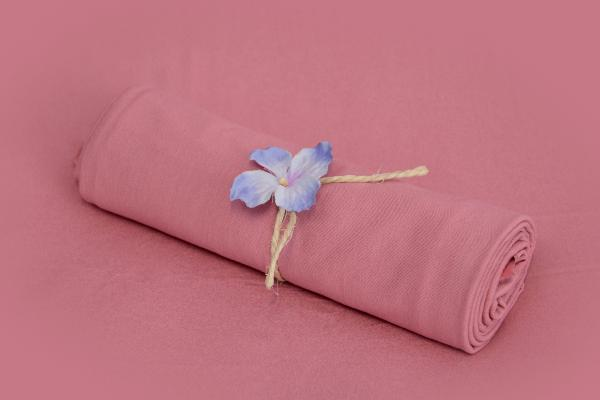 Dark pink smooth fabric