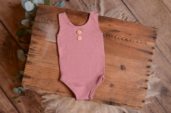 Pink stitch bodysuit