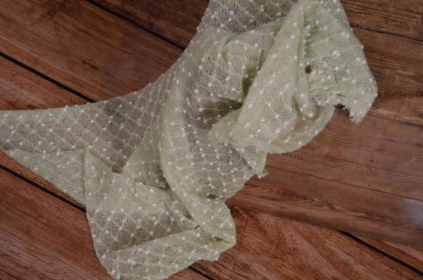 Wrap con nappine verde