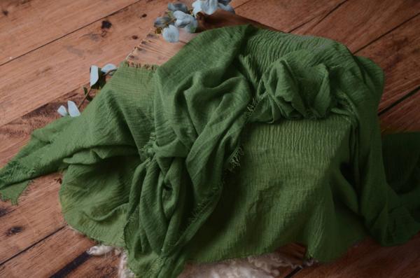 Wrap di cotone verde