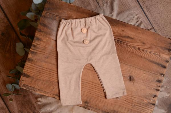 Speckled beige stitch pair of pants