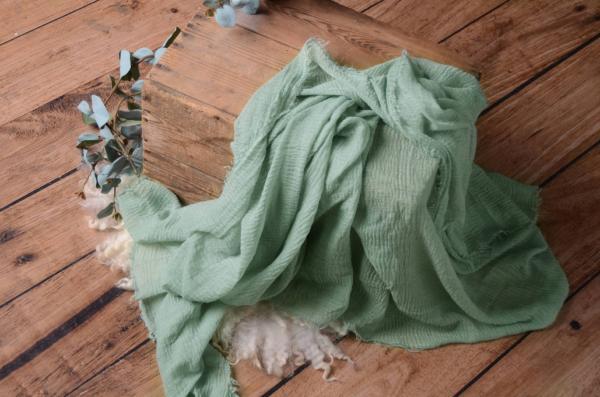 Wrap de algodón verde claro