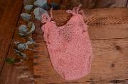Pink mohair bodysuit