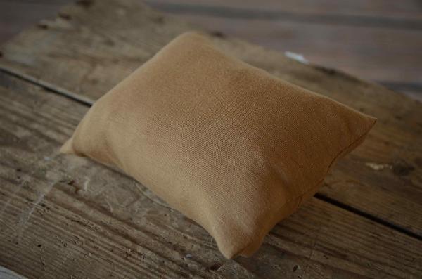Minioreiller avec taie marron