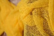 Wrap di rayon giallo