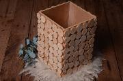 Terrine rustique écorce 40 cm avec tares