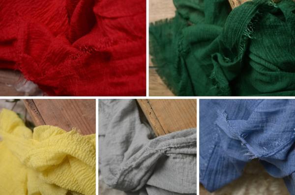 Pack de 5 wraps algodón - Modelo 3