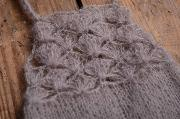 Salopette en mohair courte gris