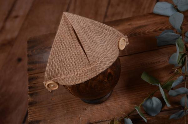 Sackcloth hat