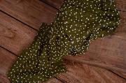 Wrap con borlas verde oliva