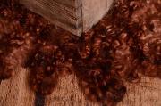 Coperta lana vergine rotonda pesca