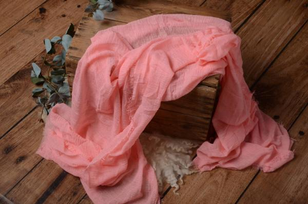 Light pink cotton wrap