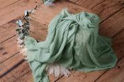 Wrap en coton vert clair
