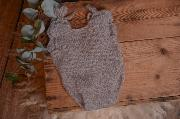 Grey mohair bodysuit