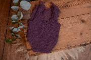 Purple mohair bodysuit
