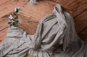 Wrap en coton gris