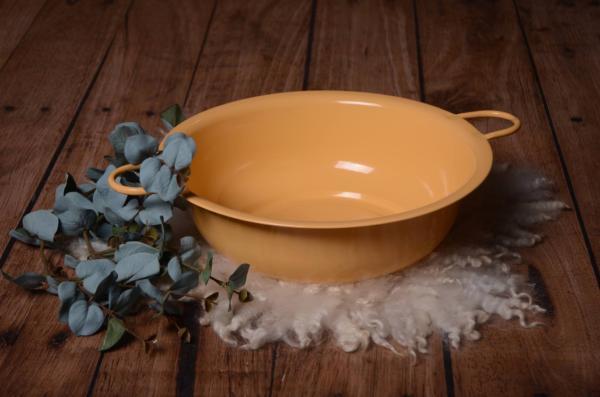 Waschschüssel in Orange