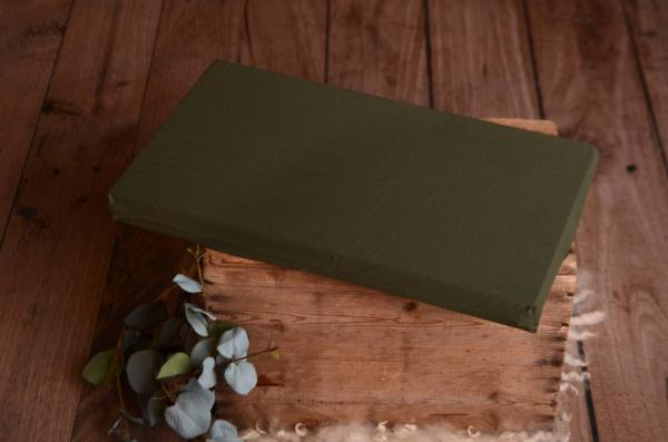 Mattress with bottle green cover