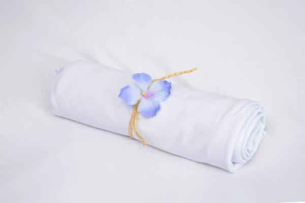White smooth fabric