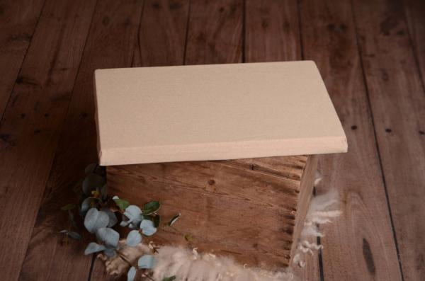Mattress with light beige cover