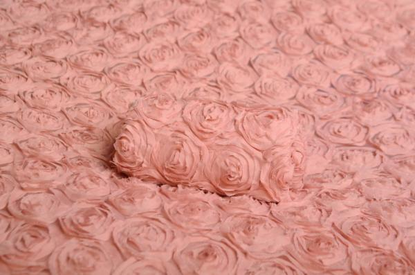 Dusty pink flower fabric