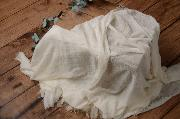 Wrap di cotone bianco sporco