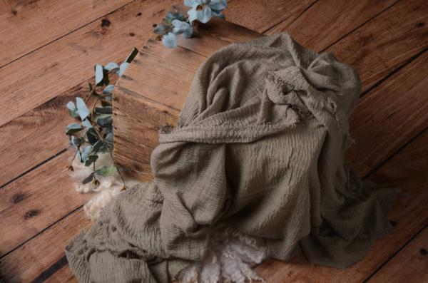 Wrap de algodón visón