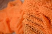 Wrap aus Zellwolle in Orange