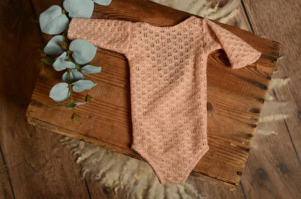 Dusty pink Marrakesh bodysuit