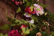Couronne florale printemps