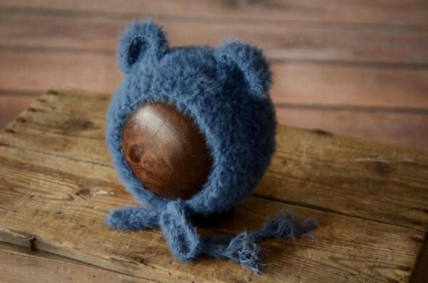 Gorro orejitas pelo azul