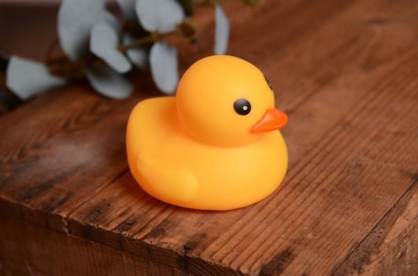 Rubber little duck 11 cm
