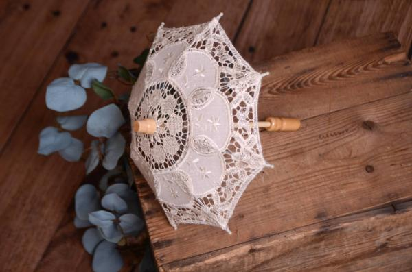 Parasol pour le soleil beige