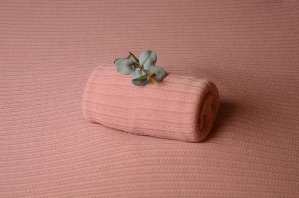 Tela Nueva Delhi rosa palo