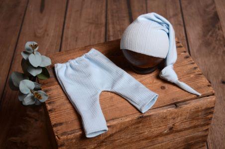 Conjunto Nueva York azul bebé