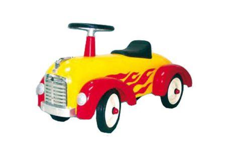Auto mit Feuermuster